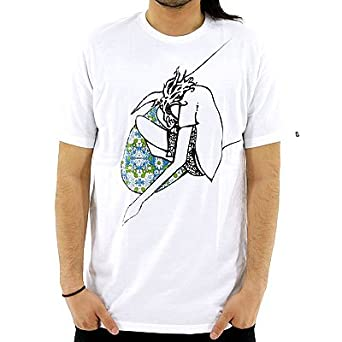 BILLABONG×ANDY DAVIS コラボTシャツ : ビラボン アンディ・デイビス サーフTシャツ 半袖 「AD011- XL WHT