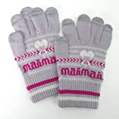 maimaiプレミアム スマホ手袋 グレイなモモイロ ~ちゅうくらいサイズ~