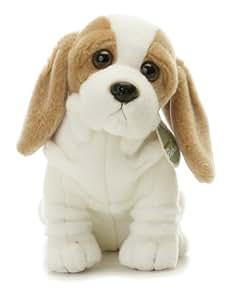"Aurora Plush 12"" Bashful, Aurora Babies Basset Hound Pup"