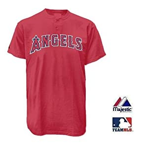Los Angeles Angels of Anaheim Two Button Officially Licensed MLB Jersey Youth Small by Team MLB - Authentic Sports Shop