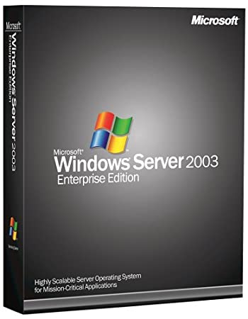 Microsoft Windows Server Enterprise 2003 64 Bit - 25 Client [Old Version]