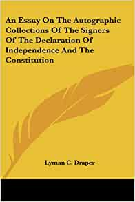 sample essay about essays on the declaration of independence  essays on declaration independence brainia com
