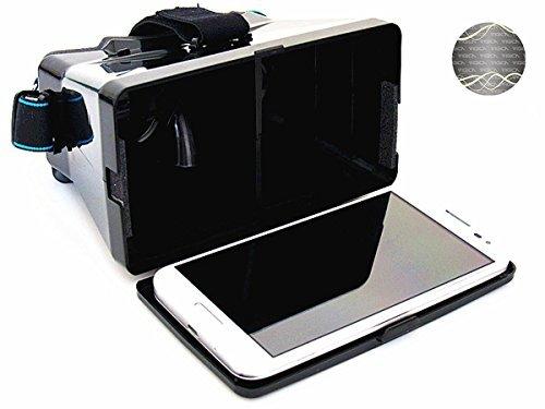 VIGICA DIY 3d Video Glasses Universal Virtual Reality VR Glasses for 4~5.6 Smartphones Google Cardboard