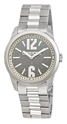Bvlgari Mens Solotempo Stainless Steel Watch