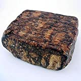 Raw African Shea Butter Black Soap from Ghana - 1 Lb
