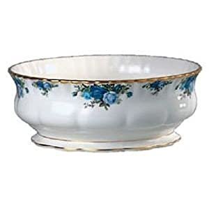 Royal Albert Moonlight Rose Salad Serving Bowl