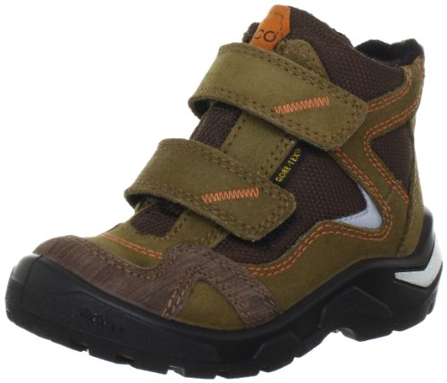 Ecco ECCO SNOWRIDE Boots Boys Brown Braun (Coffee/Sepia/ Veloursleder 55996) Size: 27