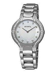 Ebel Women's 9956N38/1991050 Beluga Mother-Of-Pearl Diamond Dial Watch