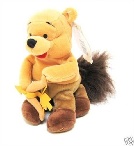 "Disney Zodiac Winnie the Pooh Astrological Sagittarius 8"" Plush Bean Bag Doll"