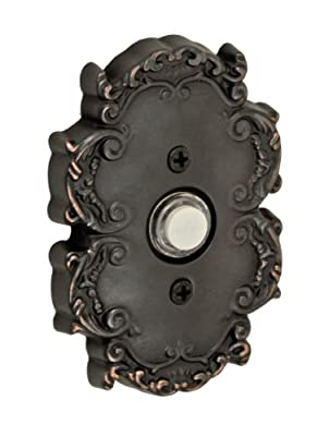 Fusion Hardware BEL-C8-ORB Designer Collection Victorian Doorbell, Oil Rubbed Bronze, 1-Pack