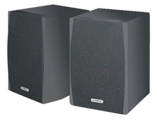 Cambridge SoundWorks Newton Series M50 Bookshelf Speakers Pair Slate On Sale