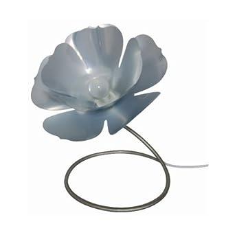 Lampe Fleur Flexible Argent