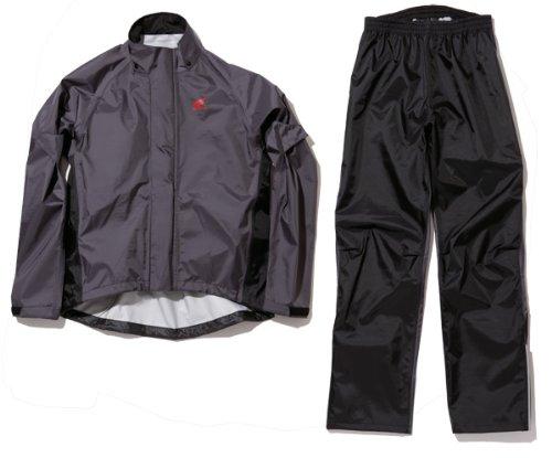 Honda(ホンダ) 3レイヤーレインスーツ ダークグレー×ブラック Lサイズ 0SYTN-S41-NL