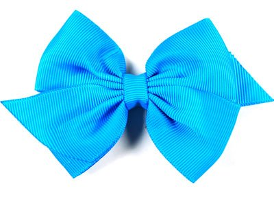 Boutique Baby Girl Accessory Grosgrain Clippie TURQUOISE Hair Bow