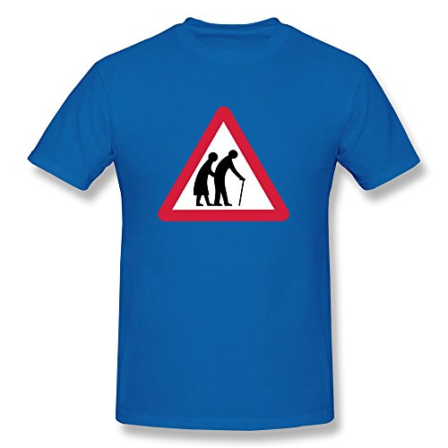 Caution Old Folks Boy Fitted Armys T Shirts - Ultra Cotton front-584553