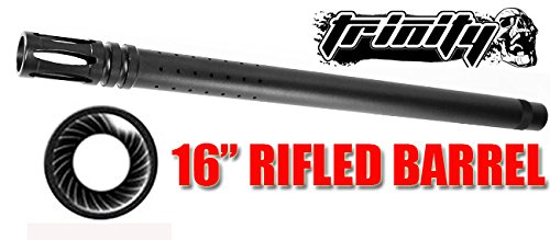 "Trinity Paintball Rifled Barrel For Tippmann Gryphon Paintball Gun, Tippmann Gryphon Gun Barrel 16"", Tippmann Paintball, Tippmann Barrel, Tippmann Gun Barrel, Fast Shipping"
