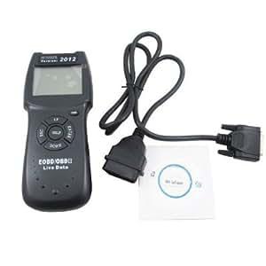 2012 Version D900 CANBUS OBD2 Live PCM Data Code Reader Scanner