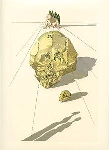 "Salvador Dali Divine Comedy woodblock engraving ""Ugolino and Ruggieri"""
