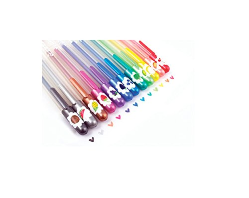 International Arrivals Yummy Yummy Scented Glitter Gel Pens (132-14) - 1