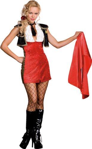 Bullfighter Tori Adore Adult Costume Medium