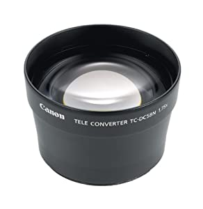 Canon TC-DC58N Tele Converter Lens for Canon A710, A700, A630, A640, A610, A620, A720IS, G3, G5 & G6 Digital Cameras