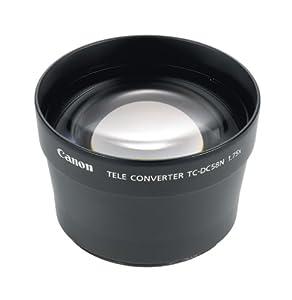 Canon TC-DC58N Tele Converter Lens for Canon A710, A700, A630, A640, A610, A620, A720IS, G3, G5 & G6 Digital Cameras