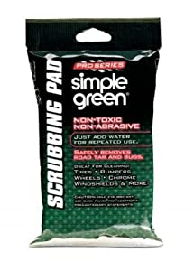 Simple Green Pro Series Scrubbing Pad, Tray Pack, 12-Count (Pack of 2)