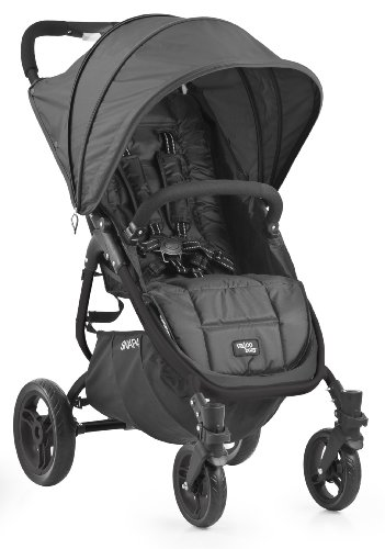 Valco Baby Snap4 Single Stroller (Black Beauty) - 1