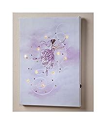 Lighted Fairy LED Canvas