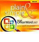 img - for Microsoft Office Word 2007 Plain & Simple (07) by Joyce, Jerry - Moon, Marianne [Paperback (2007)] book / textbook / text book