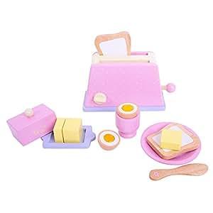 Bigjigs Toys Candy Floss Breakfast Set