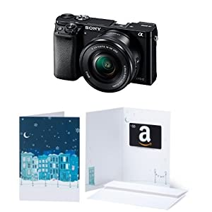 Sony Alpha a6000 Mirrorless Digital Camera with 16-50mm Power Zoom Lens w/ $50 Gift Card