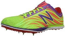 New Balance Women\'s LD5000V3 Track Spike, Lime/Purple, 6.5 B US