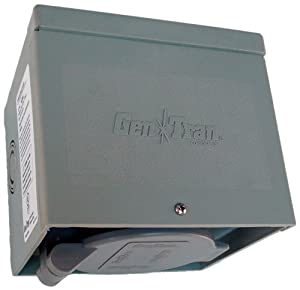 GenTran 30 Amp 125-Volt Non-Metallic Generator Power Inlet Box NEMA L5-30 with Spring-Loaded Flip Lid at Sears.com
