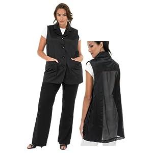 Pin hair stylist uniforms on pinterest for Spa uniform amazon