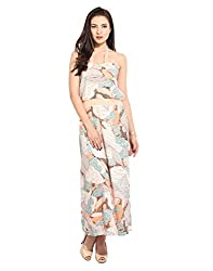 Flower Print Maxi Dress X-Large