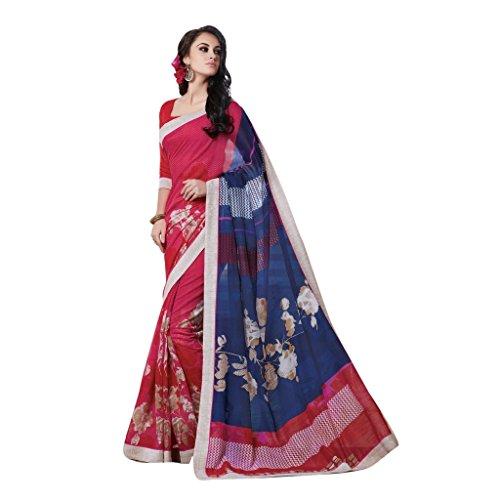 Jay Sarees Office Casual Partywear Ethnic Indian Linen Saree - Jcsari2995d1961