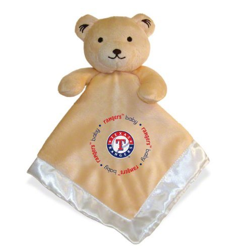 Baby Fanatic Security Bear Blanket, Texas Rangers front-997317