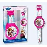 Frozen - Reloj de pared grande, 47 cm (Kids WD16081)