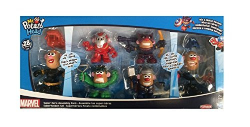 Marvel Playskool Mixable, Mashable Heroes! Super Hero Assembly Pack Mr. Potato Head (944781) (Marvel Potato Head compare prices)