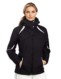 Columbia Women's Bugaboo Interchange Jacket, Black, 1X