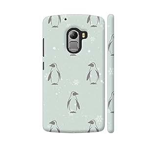 Colorpur Snow Penguins Artwork On Lenovo K4 Note Cover (Designer Mobile Back Case) | Artist: Adeela Abdul Razak