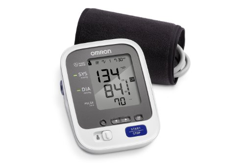 Omron 7 Series Upper Arm Blood Pressure Monitor with Cuff that fits...