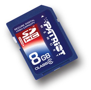8GB SDHC High Speed Class 6 Memory Card for Nintendo Wii Game Console - Secure Digital High Capacity 8 GB G GIG 8G 8GIG SD HC + Free Card Reader