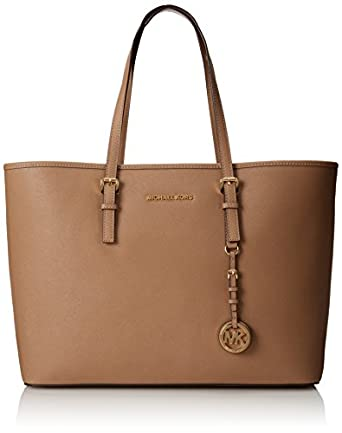 michael kors jet set multifunction tote bag dark khaki. Black Bedroom Furniture Sets. Home Design Ideas