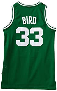 NBA Boston Celtics Larry Bird Swingman Jersey, Green by adidas