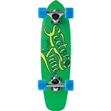 Sector 9 The Steady Complete Skateboard, Green, 6.75-Inch x 25.0-Inch