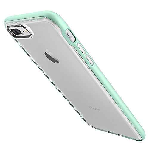 iPhone-7-Plus-Case-Spigen-Neo-Hybrid-Crystal-PREMIUM-BUMPER-Mint-Clear-TPU-PC-Frame-Slim-Dual-Layer-Premium-Case-for-Apple-iPhone-7-Plus-2016-043CS20541