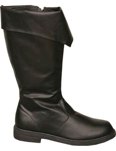 Costume-Footwear Boot Pirate Black Men Md Halloween Costume - 1 size