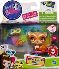 Littlest Pet Shop Tricks Talents Figure Ferret